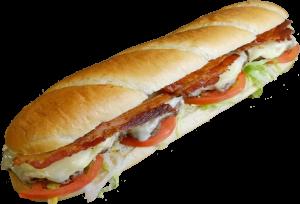 12 Inch Bacon Cheeseburger Sub