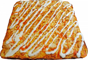 Full Buffalo Chicken Pizza