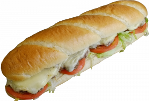 12 Inch Cheeseburger Sub