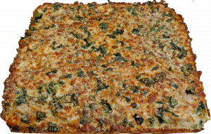 Full Chicken and Spinach Pizza