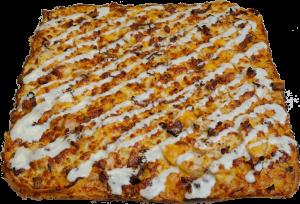 Full Chicken Bacon Ranch Pizza