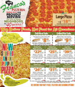 SEPTEMBER PIZZA COUPONS